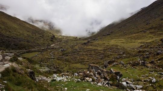 Dolina na putu prema dole