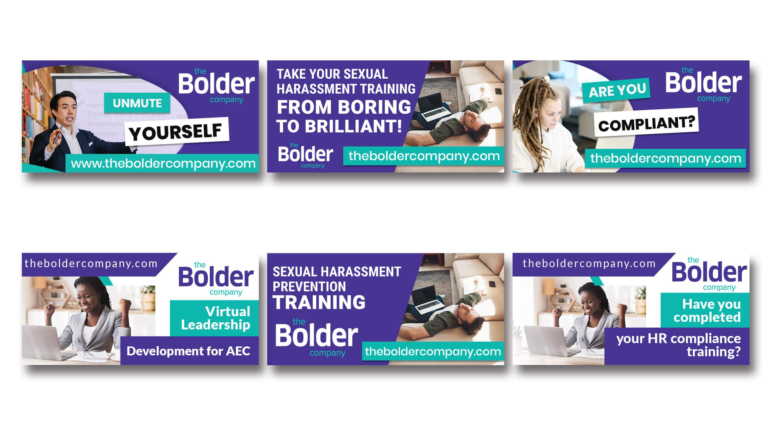 Be Bolder Magazine Full Page Layout