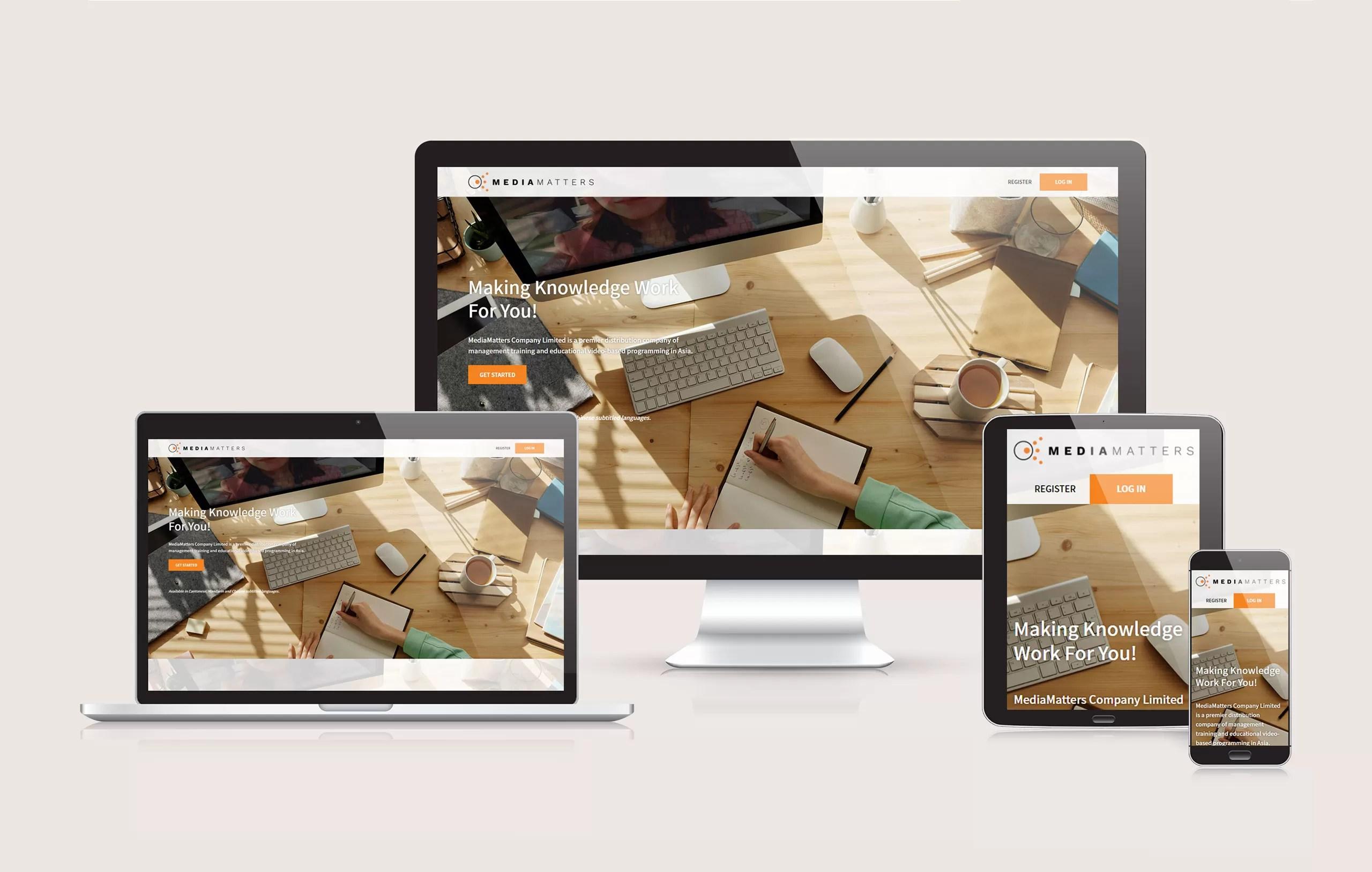Media Matters - Responsive Website Design by Ok Omni