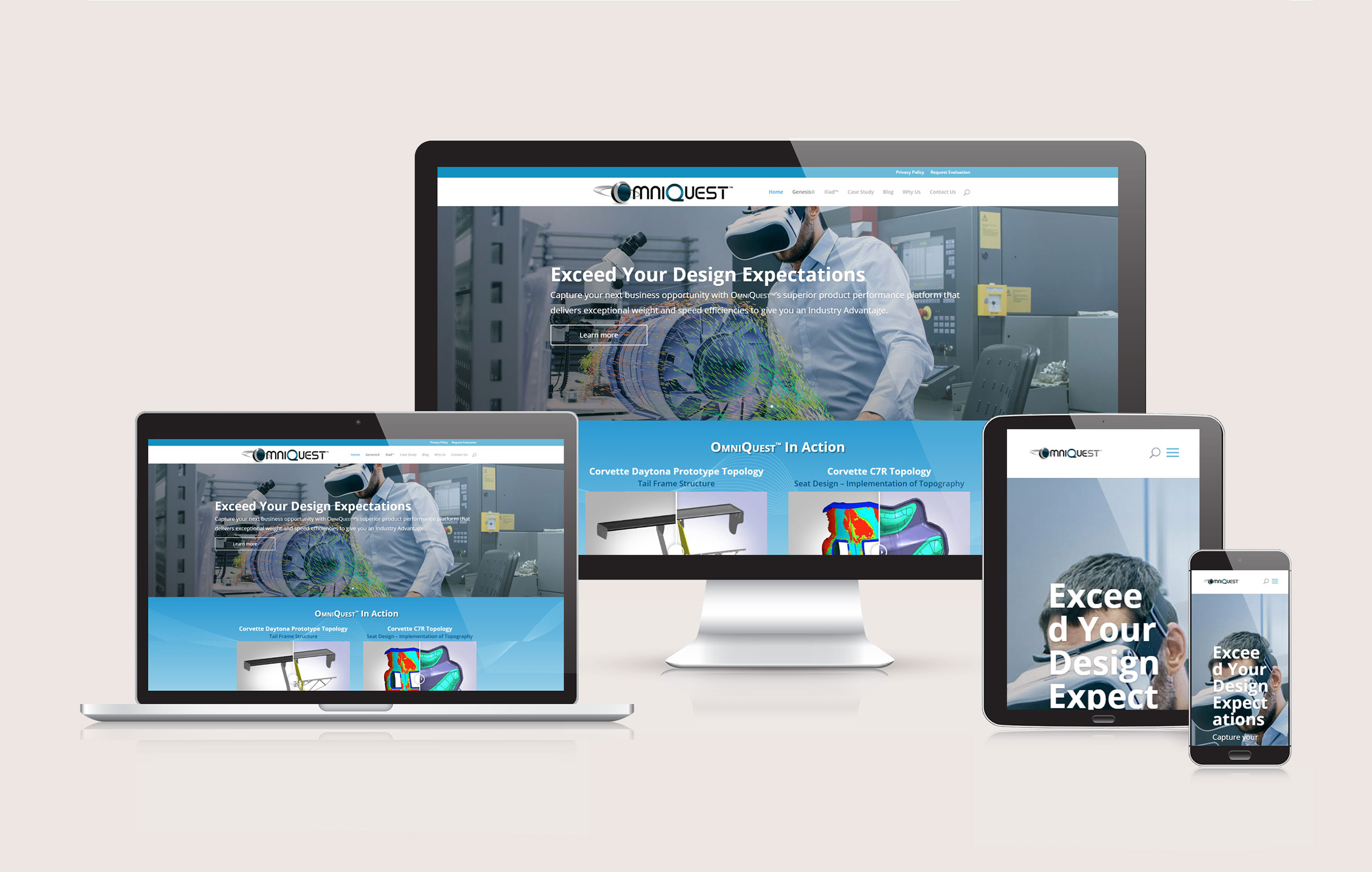 OmniQuest - Responsive Website Design by Ok Omni