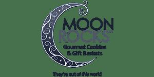 18 Moon Rocks gourmet cookies logo