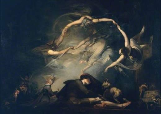 'The Shepherd's Dream' by Henry Fuseli