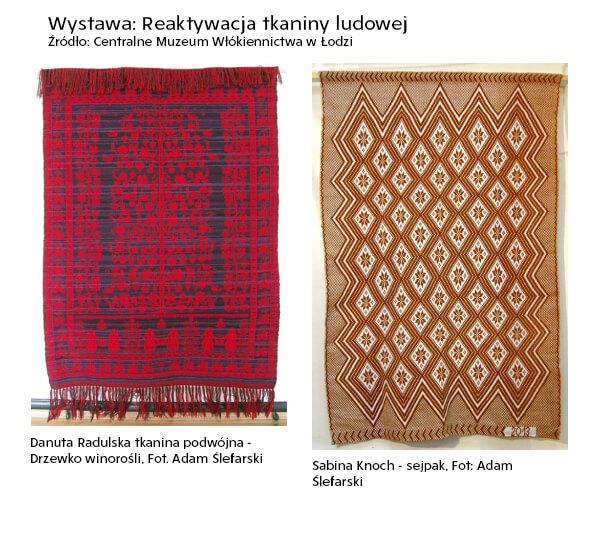 Reaktywacja tkaniny ludowej - Wydarzenia kulturalne Łódź