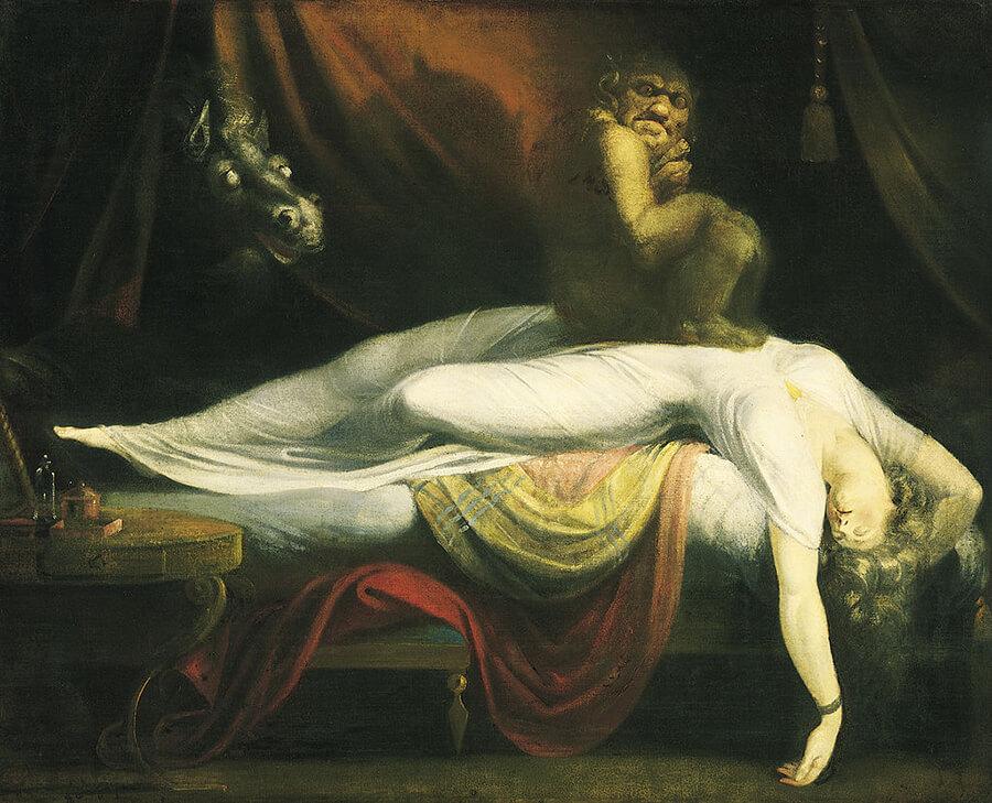 Henry Fuseli - Koszmar (Nightmare)