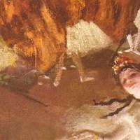 """Człowiek, który nie lubił kobiet, a jednak namiętnie je malował. """"Primaballerina"""" Edgara Degasa."""