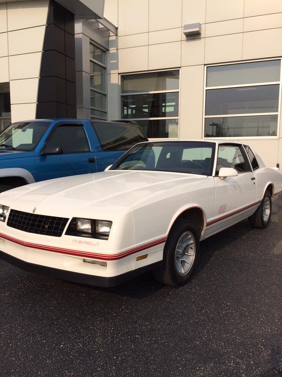 Monte Carlo Car 1988 : monte, carlo, Chevrolet, Monte, Carlo, RESERVE, Okotoks, Collector