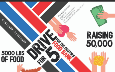 Drive for 5 is Finished – Thank You!