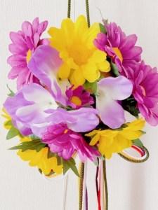 薬玉のお花