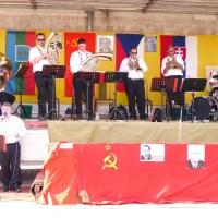 Oslavy 1.mája v dedinke Dojč - 1.5.2012