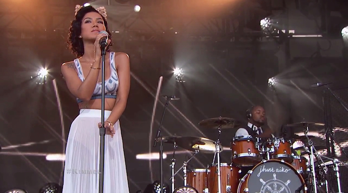 Image result for jhene aiko live