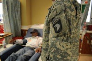 veterans receiving healthcare