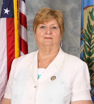 Blaine County Sheriff Margarett Parman, one of just two female county sheriffs currently in office in Oklahoma.