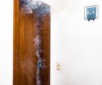 smoky door