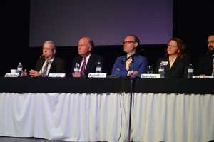 Panelists discuss tax credit reform at OK Policy's State Budget Summit.