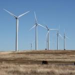 Wind farm near Weatherford, OK. Photo by Travel Aficionado used under a Creative Commons license.