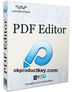 Wondershare PDF Editor Pro 8.2.13 Crack + License Key Free Download 2021