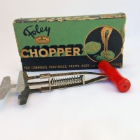 The Foley Chopper Meets a Bell Pepper • From the Back of the Drawer