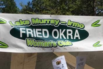 Lake Murray Irmo Womens' Club Original Fried Okra
