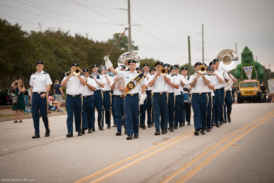 Be in the 2018 Okra Strut Parade