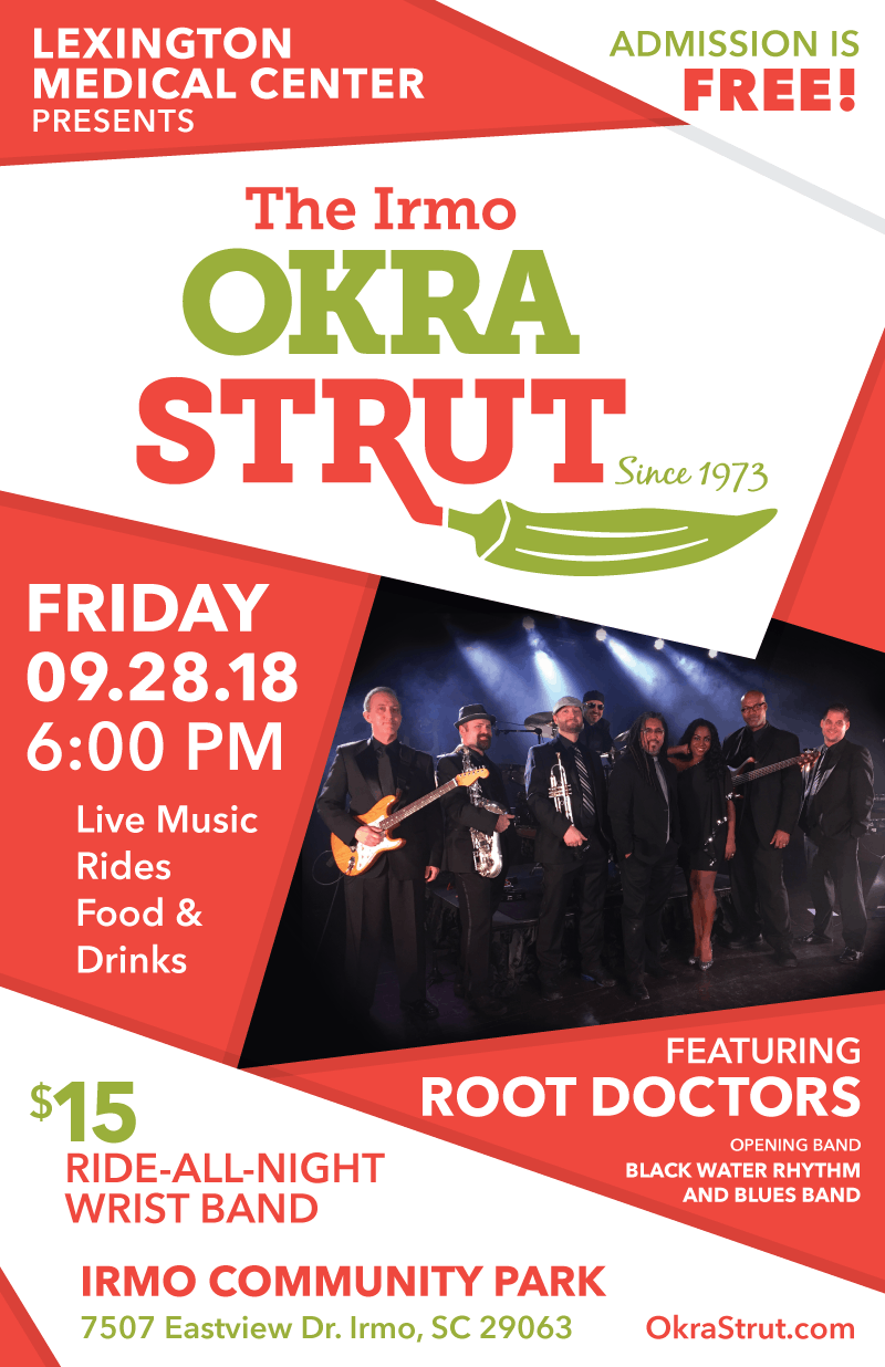 Friday Night At the Strut Headliners are The Root Doctors!
