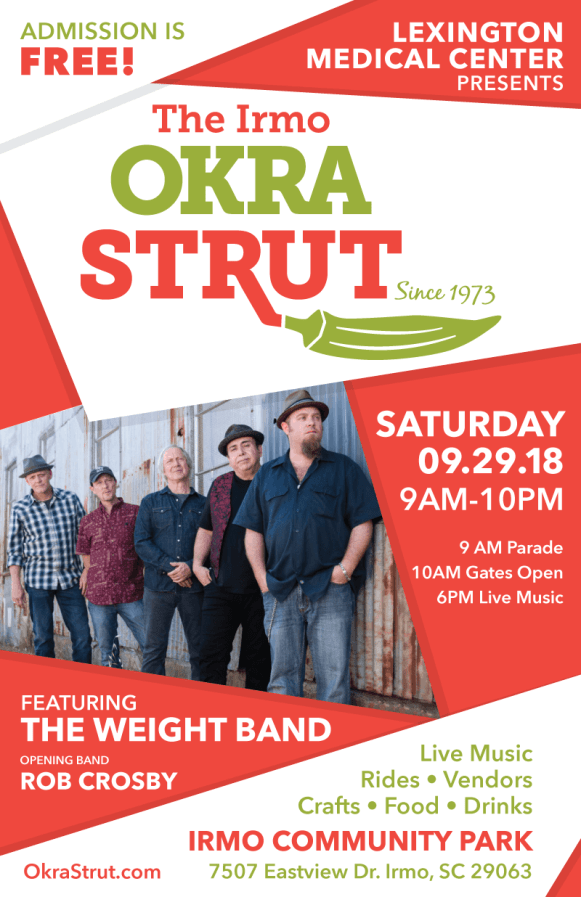 Saturday Night At the Strut Headliners is The Weight Band!
