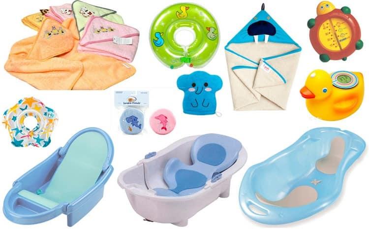 Yüzme için bir küvet, havlu, ince bir beze, su için bir termometre, yumuşak bir bebek ürinerinize ihtiyacınız olacak.