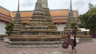Area Wat Pho, Thailand