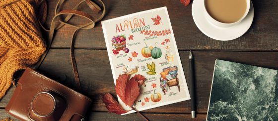Oktoberdots autumn bucketlist gratis printable