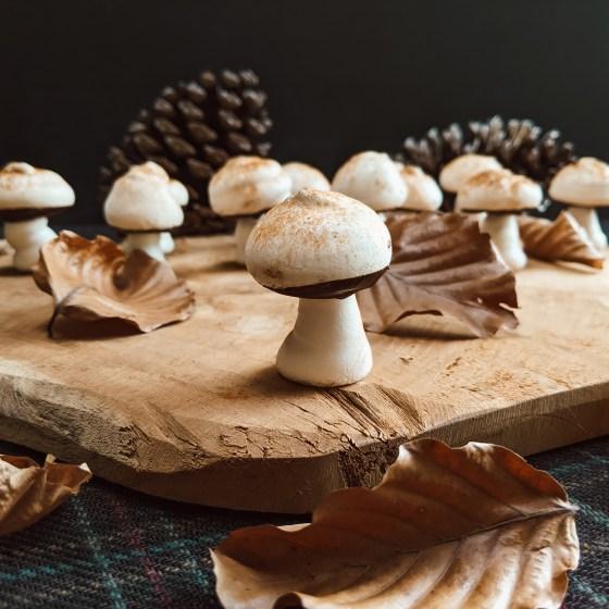 Oktoberdots paddenstoel meringues maken