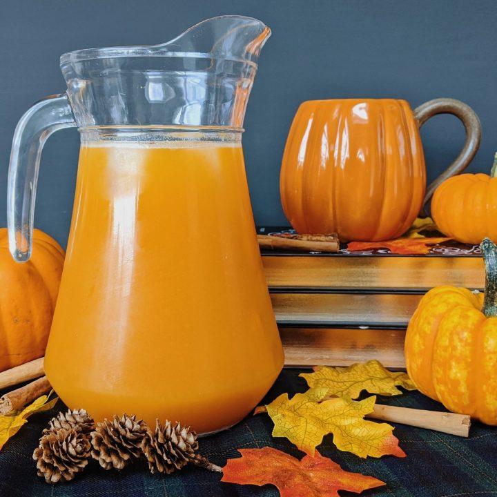 Oktoberdots pumpkin juice