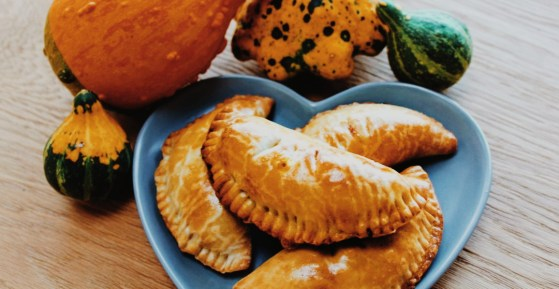 Savoury pumpkin pasties harry potter Oktoberdots