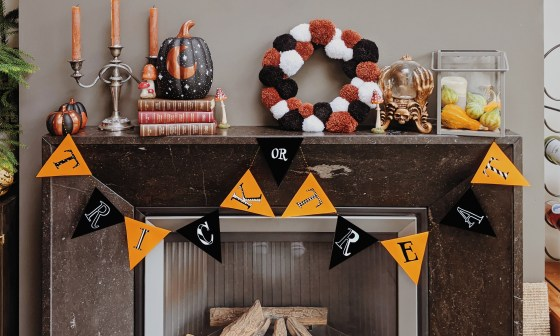 oktoberdots Trick or Treat slinger DIY