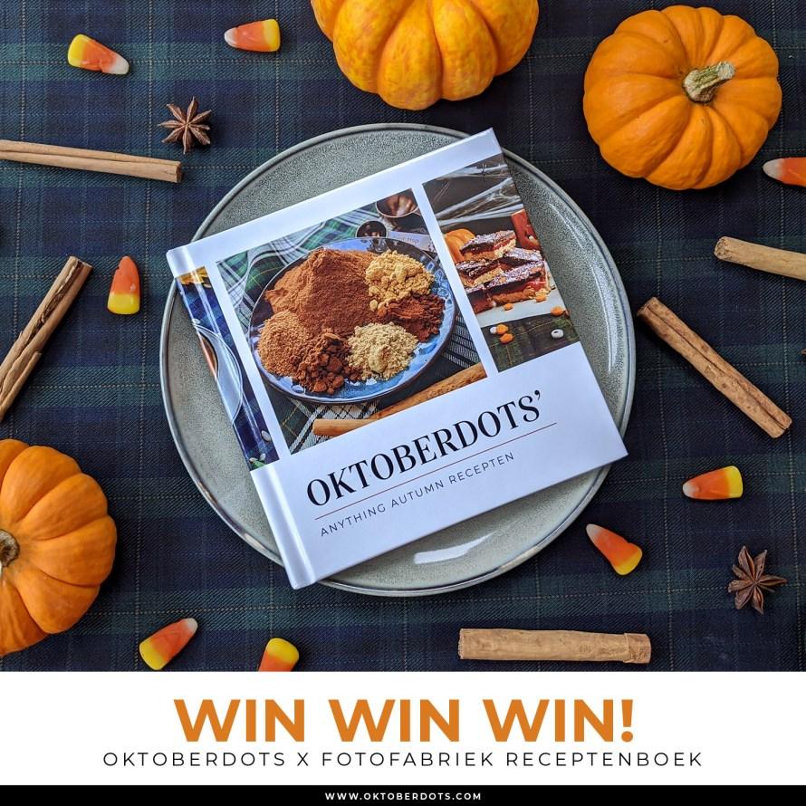 oktoberdots fotofabriek receptenboek winnen