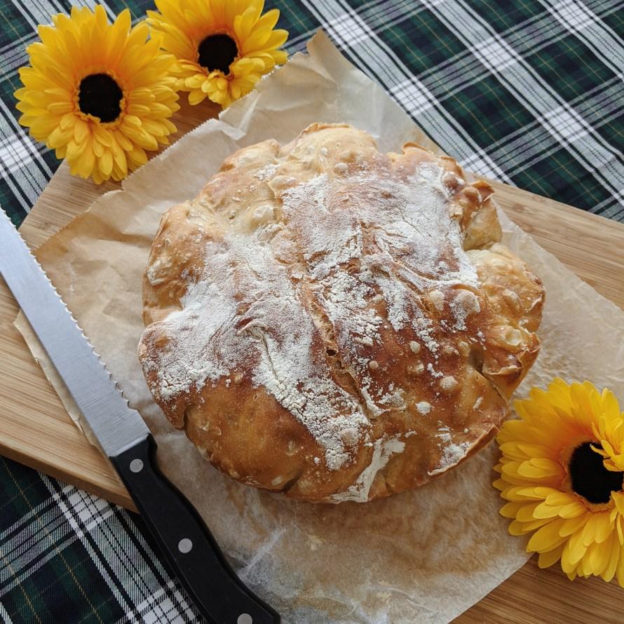 oktoberdots no knead bread recept
