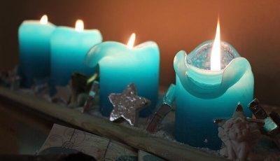 significato delle candele blu