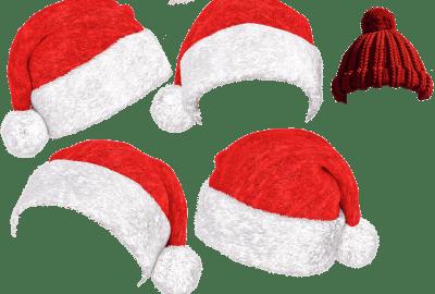 Cappello di Babbo Natale fatto in casa