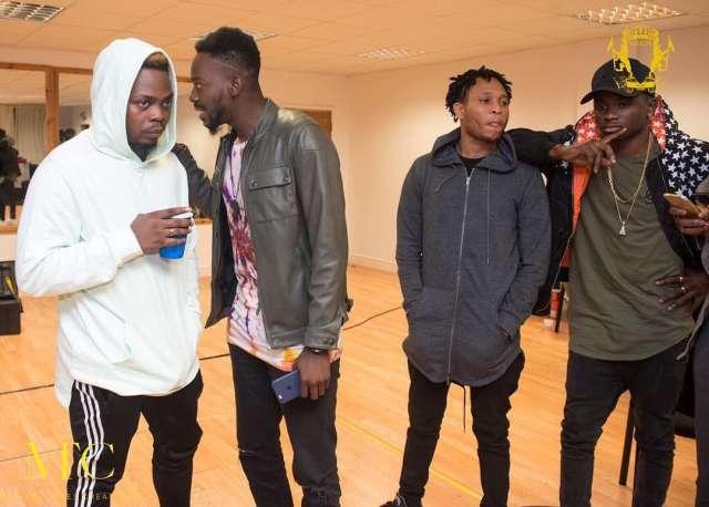 Olamide, Adekunle Gold, Lil Kesh, Viktoh (YBNL Crew)