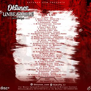 Dj MUFFY LI - Oktunes Unbeatable Mixtape