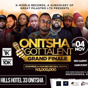 Onitsha Got Talent 2nd Edition 2018 Grand Finale