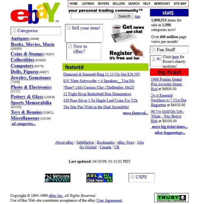 apple youtube ve digerleri web siteleri 90li yillarda nasil gorunuyordu 2 XE4UGTG9 - Apple, YouTube ve Diğerleri: Web Siteleri 90'lı Yıllarda Nasıl Görünüyordu?