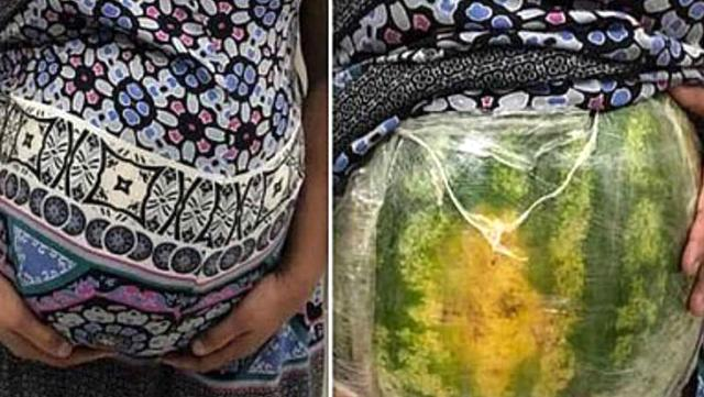 Brezilya'da hamile taklidi yapan kadın karpuz kabuğunda kilolarca uyuşturucu kaçırmış, OkuGit.Com - Tarih, Güncel, Kadın, Sağlık, Moda Bilgileri Genel Bloğu