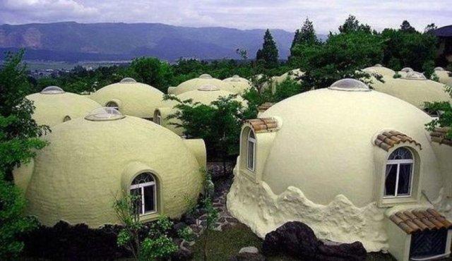 kopuk ev 3 - Japonya' da ki Köpük Evler