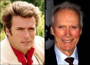 Clint Eastwood 300x217 - Ünlülerin Genç ve Yaşlı Halleri