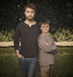 Daniel Radcliffe 286x300 - Ünlülerin Genç ve Yaşlı Halleri
