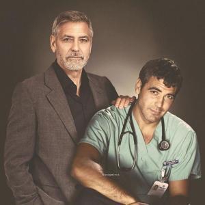 George Clooney 300x300 - Ünlülerin Genç ve Yaşlı Halleri