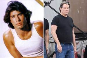 John Travolta 300x200 - Ünlülerin Genç ve Yaşlı Halleri