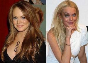 Lindsay Lohan 300x214 - Ünlülerin Genç ve Yaşlı Halleri