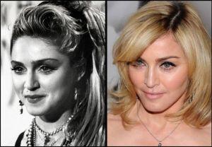 Madonna 300x208 - Ünlülerin Genç ve Yaşlı Halleri