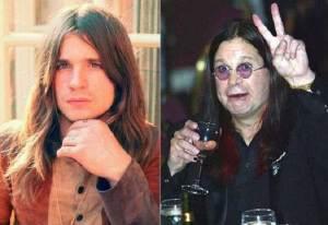 Ozzy Osbourne 1 300x206 - Ünlülerin Genç ve Yaşlı Halleri