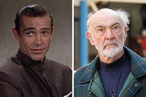 Sean Connery 300x200 - Ünlülerin Genç ve Yaşlı Halleri